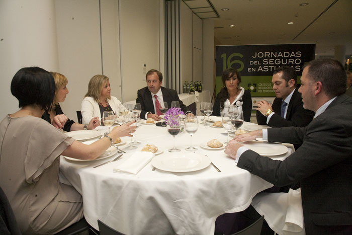 XVI Jornadas del Seguro en Asturias 2011 - Colegio de Mediadores de Seguros de Asturias