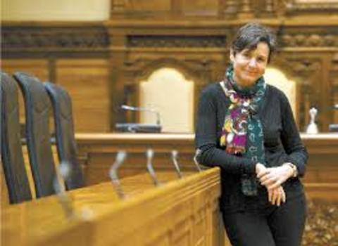 Colegio de Mediadores de Seguros Asturias - Reunión del Colegio con la alcaldesa de Gijón, Carmen Moriyón -  Colegio de Mediadores de Seguros del Principado  Colegio de Mediadores de Seguros del Principado