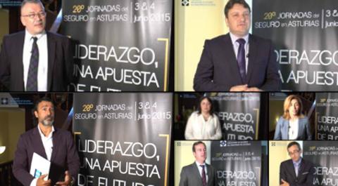 Colegio de Mediadores de Seguros Asturias - Vídeos-Entrevistas: XX Jornadas del Seguro en Asturias - Mediadores -  Colegio de Mediadores de Seguros del Principado  Colegio de Mediadores de Seguros del Principado