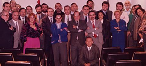 Colegio de Mediadores de Seguros Asturias - Un recorrido por nuestra historia, 1980 -  Colegio de Mediadores de Seguros del Principado  Colegio de Mediadores de Seguros del Principado