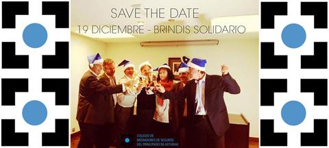 Colegio de Mediadores de Seguros Asturias - Brindis Solidario 2014 -  Colegio de Mediadores de Seguros del Principado  Colegio de Mediadores de Seguros del Principado