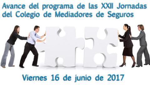Colegio de Mediadores de Seguros Asturias - Avance del programa de las XXII Jornadas del Colegio de Mediadores de Seguros -  Colegio de Mediadores de Seguros del Principado  Colegio de Mediadores de Seguros del Principado