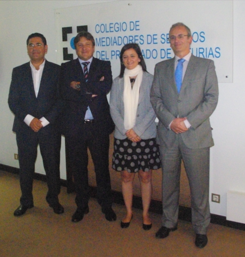 Colegio de Mediadores de Seguros Asturias -  El Colegio y AXA renuevan su acuerdo de colaboración -  Colegio de Mediadores de Seguros del Principado  Colegio de Mediadores de Seguros del Principado